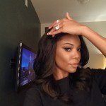 Gabrielle Union's 4 Prong 8.5 Carat Cushion Cut Diamond