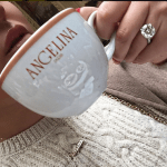 Adrienne Bailon's Round Cut Diamond Ring