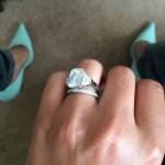 Cheryl Cole's 6 Carat Emerald Cut Diamond Ring