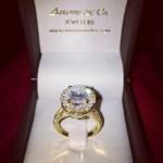 Erica Mena's 3 Carat Round Diamond Ring