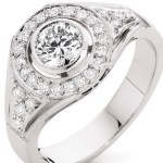 Catriona Rowntree's 7 Carat Round Diamond Ring