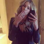 Jennifer Hawkins' 5 Carat Round Brilliant Cut Diamond Ring