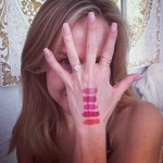 Julie Benz's 3 Carat Cushion Cut Diamond Ring