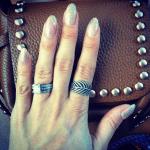 Millie Mackintosh's 3 Carat Square Diamond Ring