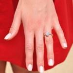 Rolene Strauss' 1.25 Carat Oval Diamond Ring