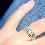 Rylan Clark's Baguette Diamond Ring