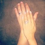 """Nicole """"snooki"""" Polizzi's 5 Carat Princess Diamond Ring"""
