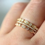Trend Alert: Stacked Rings
