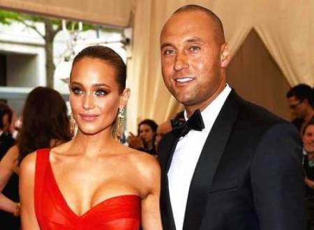 518808675-Derek-Jeter-and-Hannah-Davis-Make-Red-Carpet