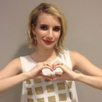 Emma Roberts' 3 Carat Round Cut Diamond Ring