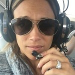 Jana Kramer's Round Diamond Ring