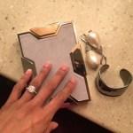 Misty Copeland's Cushion Cut Diamond Ring