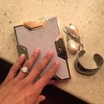 Misty Copeland's Cushion Cut Diamond Ring
