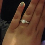 Kailyn Lowry's Round Cut Diamond Ring