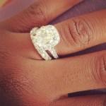 Fantasia Barrino's Cushion Cut Diamond Ring