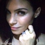 Jenna Dewan's 1.62 Carat Oval Cut Diamond Ring