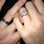 Laura Benanti's Round Diamond Ring