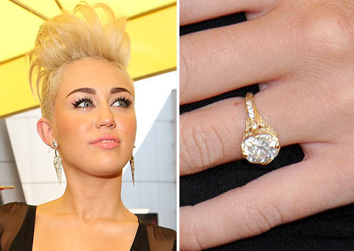 Engagement Ring Miley Cyrus