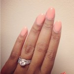 Ayesha Alexander's Round Diamond Ring