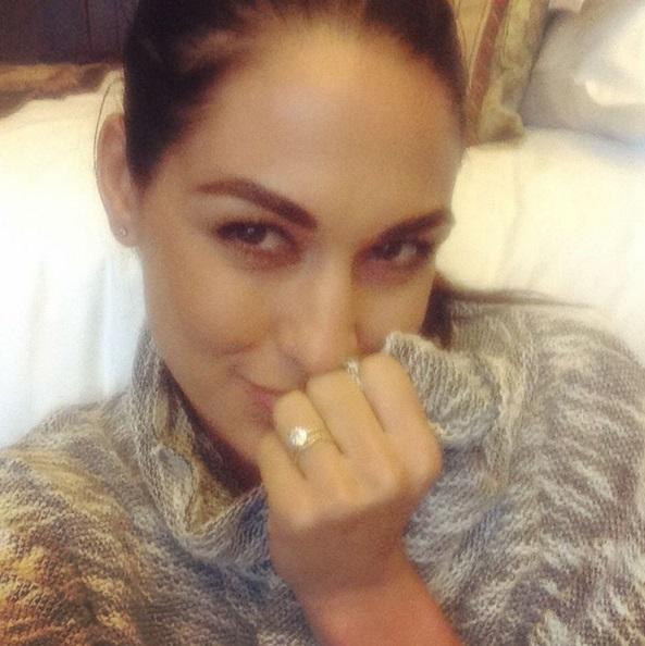 Brie Bellas S Round Diamond Ring