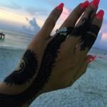 Lisa D' Amato's Pear Shaped Diamond Ring