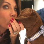 Lisa Vanderpump's 20 Carat Emerald Cut Diamond Ring