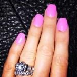 Maryse Ouellet's Round Diamond Ring