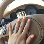Mia Lee's Cushion Cut Diamond Ring