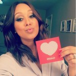 Tamera Mowry's Round Diamond Ring