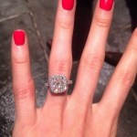 Katherine Webb's Cushion Cut Diamond Ring