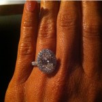 Lisa Thomson's Oval Cut Diamond Ring
