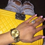 Sarah Mahmoodshahi's Round Cut Diamond Ring