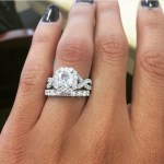 Sydney Leroux's Square Shaped Diamond Ring