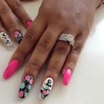 Tishana Holmes' Square Cut Diamond Ring