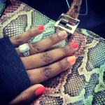 Yonka Triche's Emerald Cut Diamond Ring