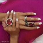 Brooke Burke's Round Cut Diamond Ring