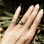 Cat Deeley's Round Cut Diamond Ring