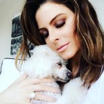 Maria Menounos' Brilliant Cut Diamond Ring
