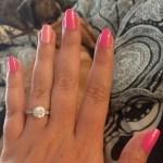 Tina Milone's Round Cut Diamond Ring