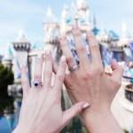 Alyssa Campanella's Round Cut Sapphire Ring
