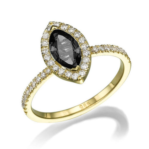 DiamondsMine-Black-Diamond-Marquise-Engagement-Ring-500x500
