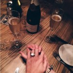Lauren Bushnell's 4 Carat Emerald Cut Diamond Ring