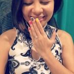 Sitti Navarro's Round Cut Diamond Ring