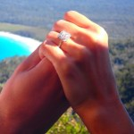 Snezana Markoski's 4 Carat Princess Cut Diamond Ring