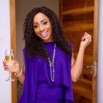 Dakore Egbuson's Square Shaped Diamond Ring