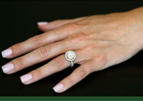 Heather Bilyeu Engagement Ring Size