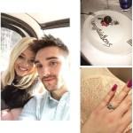 Kelsey Hardwick's Square Shaped Diamond Ring