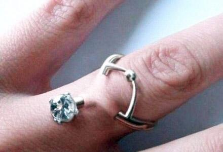 Trend Alert: Engagement Ring Finger Piercings?!
