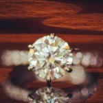 Erin Brady's Round Cut Diamond Ring