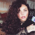 Jesy Nelson's Heart Shaped Diamond Ring